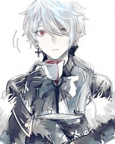 Discover ideas about white hair anime guy Garçon Anime Hot, Cool Anime Guys, Anime Boys, Anime Demon Boy, Chica Anime Manga, Manga Boy, Anime Art, Anime Chibi, White Hair Anime Guy