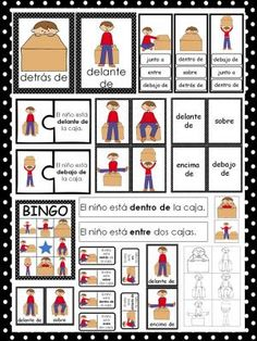 Las Preposiciones De Lugar-Prepositions Unit In Spanish |