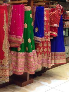 Meena bazaar lehengas