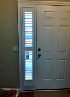 Awesome Sidelights With Plantation Shutters! Inside Mount Provides A Cleaner, More  Finished Look Than Blinds