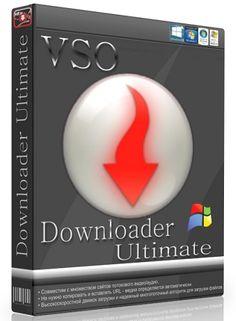 VSO Downloader Ultimate 5.0.0.39 Crack Key Full Version Free Download