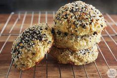 'Everything Bagel' Cauliflower Rolls - Lexi's Clean Kitchen
