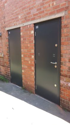 Fire doors installed in Leicestershire.