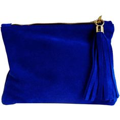 Miller and Jeeves Mini Suede Clutch - royal blue. I absolutely love this. Suede Handbags, Blue Handbags, Blue Clutch, Blue Purse, Clutch Wallet, Clutch Bags, Mini Purse, New Bag, Blue Shoes