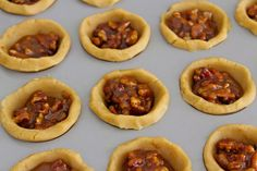 Pecan Pie Bites pecan pies, pie bite