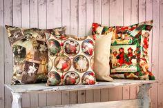 Nostalgiset joulukankaat: Joulurauhaa, Joulu on taas ja Joulumaassa / Eurokangas