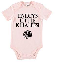 Game of Thrones onesie. Khaleesi onesie baby by LittleRedFoxes