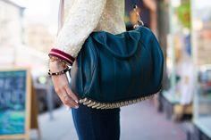 Alexander Wang + 16 more handbags we saw on the street. Photos by Anna-Alexia Basile