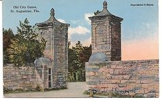 Old City Gates, St. Augustine Florida