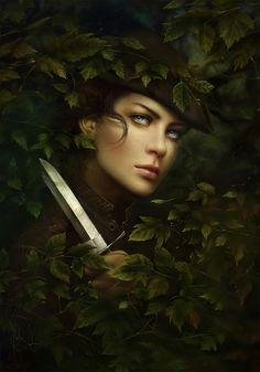 "Melanie Delon art | Mélanie Delon Art; Cover of ""Scarlet"" by A.C. Gaughen"