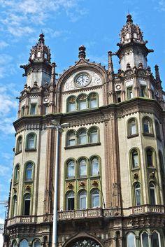 The old Parisi Udvar arcade in Budapest, Hungary ✯ ωнιмѕу ѕαη∂у Arcade, Art Nouveau, Budapest Hungary, Kirchen, Eastern Europe, Great Britain, Romania, Morocco, Big Ben