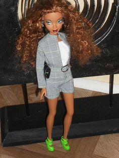 Barbie Doll Clothes  Plaid Shorts Suit by NiteBabyDollWorld, $13.00