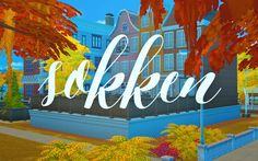 Sims 4 CC's - The Best: Town - Sokken by Holosprite