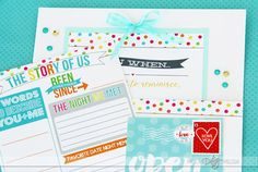 Open When Letters Journal Gift