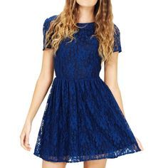 Libby Dress Navy