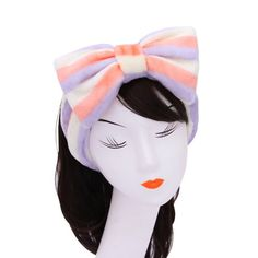 Girls Day Spa Headband Soft Bow Purple * Read more reviews of the product by visiting the link on the image.Note:It is affiliate link to Amazon.