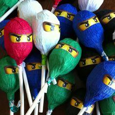 Ninjago lollies.