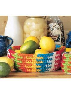 """A basket for any occasion! Size: Large Basket: Approx 8"""" across x 3"""" deep. Small Basket: Approx 4"""" across x 2 1/2"""" deep."""