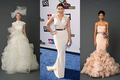 Kim K-a nearly perfect hourglass-is getting married Saturday. Science says these dresses will best flatter her figure.