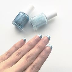 Week 3 of the #BCDnails weekly challenge with @bellezzabee and @cosmeticproof was Funky French // I'm a day late but here is my take.  Polish used: @essiepolish Borrowed & Blue and Blue Rhapsody  #EssieLove #Essie #EssiePolish #Nails #NailArtChallenge #NailArt #FunkyFrench #FrenchManicure #NailPolish #Polish #Mani #NailsDid #BBloggers #NailDesigns #Nailspiration #NOTD #NOTW # by drinkcitra