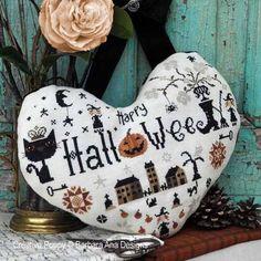Halloween Heart by Barbara Ana Designs