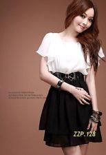 Chiffon Summer dress with belt