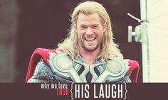 Why we love the Avengers; Thor's laugh