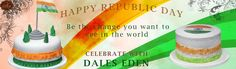 """""""BE THE CHANGE YOU WANT TO SEE IN WORLD"""" #HAPPYREPUBLICDAY #CelebratewithDaleseden"""