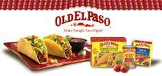 $1/3 Old El Paso Products Coupon = $.39 Seasoning and $.92 Taco Shells!