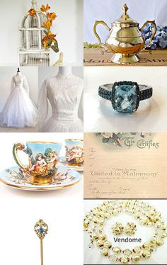 #vogueteam Vintage Vogue Bridal Salon  by Anne on Etsy--Pinned with TreasuryPin.com
