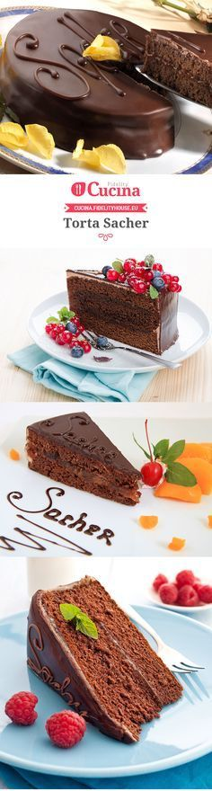 Torta Sacher. Try Albergian apricot jam in this recipe!