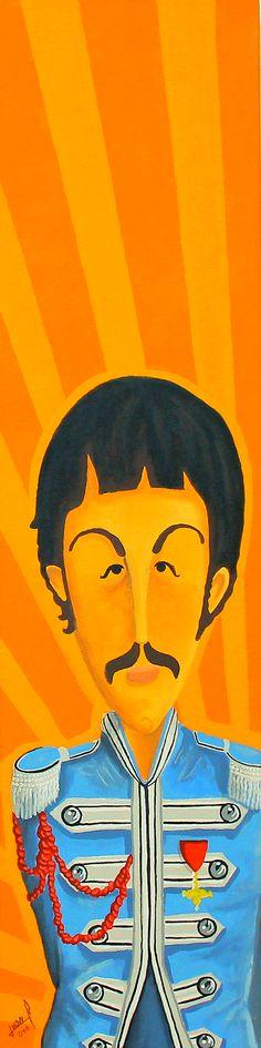 Paul    Paul McCartney  The Beatles Fan Art    http://www.flickr.com/whoanne