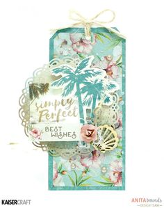 Neat and Crafty: Tags - layouts and cards | Kaisercraft DT
