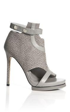 Shop Camilla Skovgaard Silver Road Line Stiletto Sandal at Moda Operandi - Fierce!