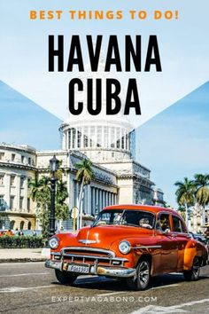 25 Awesome Things to Do in Havana, Cuba - Literally everything touristy and non-touristy that you could possibly want to do in Havana and more! Cuba Travel, Vacation Travel, Mexico Travel, Family Travel, Havana City, South America Travel, North America, Latin America, Travel Guides