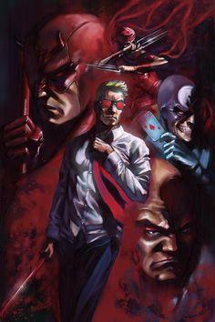 "Matt Murdock - Daredevil by Wagner ""Wandger"" de Souza Caetano"