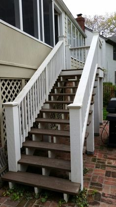 DECK STAIRCASE BY KC PAINT PROS FREE ESTIMATES 913.602.6500
