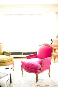 that is MY chair (someday)