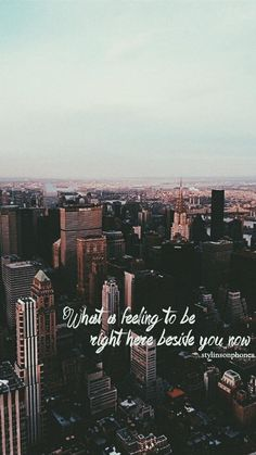 One Direction Lyric Lockscreen | @stylinsonphones ctto