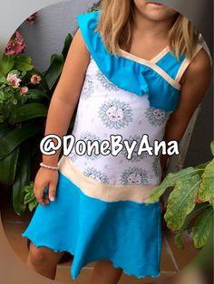 Done By Ana : Vestido niña. Modelo 31 Whirlpool de Ottobre 3/201...