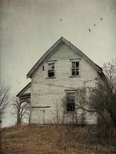 Abandoned house by francois.dion, via Flickr