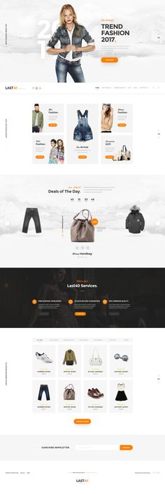 Last40 Store - Ecommerce PSD Template #shopping cart #store #vegetables • Download ➝ https://themeforest.net/item/last40-store-ecommerce-psd-template/19495204?ref=pxcr