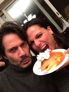 Not a Puerto Rican #Thanksgiving without a little #flan @LanaParrilla