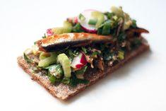 Chez Mazilique: 5 feluri cu 1 conserva de sardine