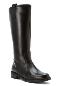 David Tate Women's Bree Super Plus Wide Calf® Leather Riding Boot (Black) Stylish Boots, Casual Boots, Leather Riding Boots, Black Leather Boots, Calf Leather, David Tate Shoes, Wide Calf Boots, Rain And Snow Boots, Boots For Sale