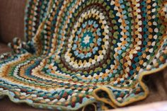 granny mandala blanket