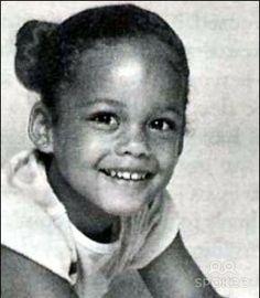 A young Alicia Keys..