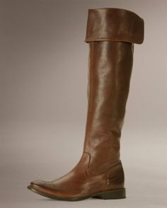 Frye: Shirley Over The Knee Riding Boot.  Love these!! Such Great Boots that can be dressed up or worn casually.  Frye boots are definitely worth the money!