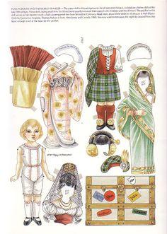 Paper Doll Greeting Cards by Peggy Jo Rosamond - DollsDoOldDays - Álbumes web de Picasa