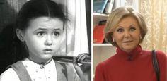 Актёры советского кино в своих первых фильмах и сейчас / Шоубиз
